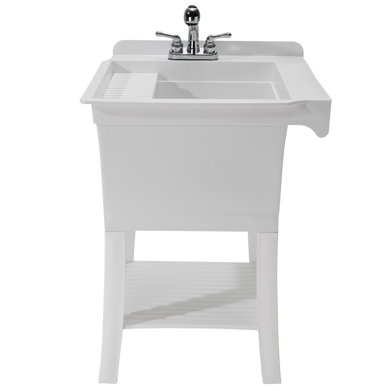 Utility Sink with Faucet - Maddox Utility Sink Kit